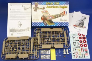 EDU1142 - Eduard Models 1/48 SPAD XIII AMERICAN EAGLES [LTD.ED.] DUAL COMBO