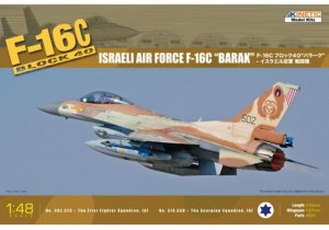 "KIN48012 - Kinetic 1/48 F-16C Block 40 Israeli Air Force F-16C ""Barak"""
