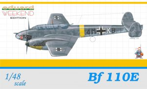EDU8403 - Eduard Models 1/48 BF 110E - WEEKEND EDITION