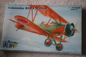 VAL72048 - Valom 1/72 Yokosuka K5Y1 Willow