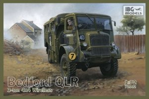 IBG72002 - IBG 1/72 BEDFORD QLR 3-TON WIRELESS