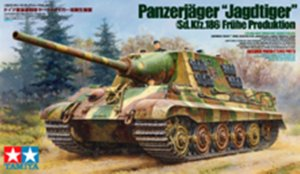 TAM35295 - Tamiya 1/35 JAGDTIGER - FRUHE PRODUCTION