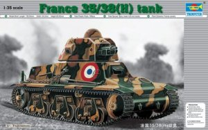 TRP00351 - Trumpeter 1/35 France 35/38(H) tank