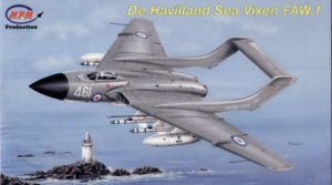 MPM72545 - MPM 1/72 De Havilland Sea Vixen FAW.1
