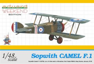 EDU8450 - Eduard Models 1/48 Sopwith Camel F.1 [Weekend Edition]