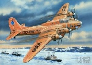 AMO72155 - Amodel 1/72 PETLYAKOV PE-8 POLAR AVIATION
