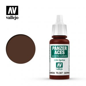 VLJ70307 - Vallejo Type - Panzer Aces: Red Tail Light - 17mL Bottle - Acrylic / Water Based