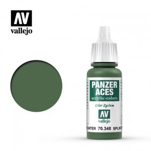 VLJ70348 - Vallejo Type - Panzer Aces: Splinter Strips - 17mL Bottle - Acrylic / Water Based