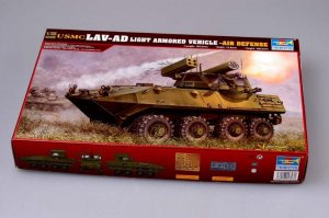 TRP00393 - Trumpeter 1/35 USMC LAV-AD Light Armored Vehicle-Air Defense