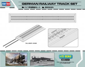 HBB82902 - Hobbyboss 1/72 German Railway Track Set