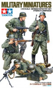 TAM35293 - Tamiya 1/35 GERMAN INFANTRY SET (FR. CAMPAIGN)