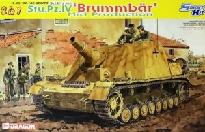 DRA6460 - Dragon 1/35 Sd.Kfz.166 Stu.Pz.IV Brummbar Mid Production - Smart Kit - '39-'45 Series