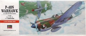 HAS00139 - Hasegawa 1/72 P-40N Warkawk (U.S. Army Air Force Fighter)