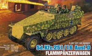 DRA6247 - Dragon 1/35 Sd.Kfz. 251/16 Ausf. D. Flammpanzerwagen - '39-'45 Series