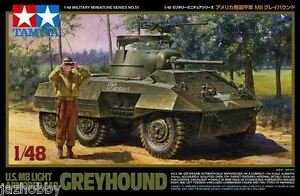 TAM32551 - Tamiya 1/48 M8 GREYHOUND ARMOURED CAR