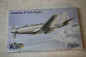 VAL72010 - Valom 1/72 Fisher P-75A Eagle