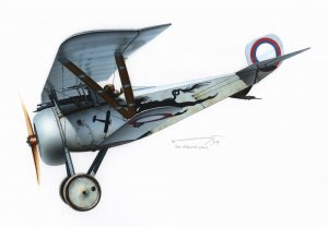 EDU1108 - Eduard Models 1/48 NIEUPORT NI-23 IN RUSSIAN SERVICE