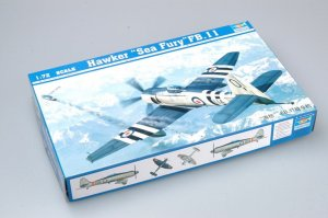 TRP01631 - Trumpeter 1/72 HAWKER SEA FURY FB.11