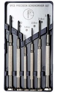 EXC55662 - Excel 6 Piece Precision Screwdriver Set