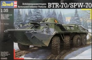 REV03063 - Revell 1/35 BTR-70/SPW-70 Schutzenpanzerwagen / Armoured Infantry Vehicle