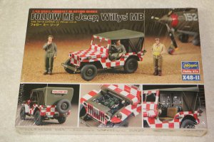 HAS36011 - Hasegawa 1/48 Fellow Me Jeep Willys MB