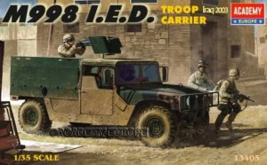 ACA13405 - Academy 1/35 M998 I.E.D. Troop Carrier - Iraq 2003