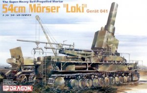 "DRA6181 - Dragon 1/35 The Super-Heavy Self Propelled Mortar 54cm Morser ""Loki"" Gerat 041 - '39-'45 Series"
