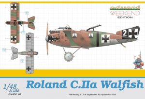 EDU8446 - Eduard Models 1/48 Roland C.IIa Walfish [Weekend Edition]