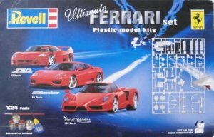 REV05759 - Revell 1/24 Ultimate Ferrari Set Enzo; F50; 360 Modena