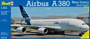REV04218 - Revell 1/144 Airbus A380 Design New Livery First Flight