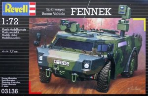 REV03136 - Revell 1/72 Fennek Spahwagen Recon Vehicle