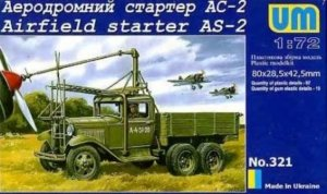 UMM321 - UM Models 1/72 Airfield Starter AS-2