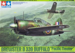 TAM61094 - Tamiya 1/48 BREWSTER B339 BUFFALO PACIFIC THEATER