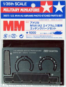 TAM35273 - Tamiya 1/35 M1A1/A2 ABRAMS PHOTO-ETCHED PARTS