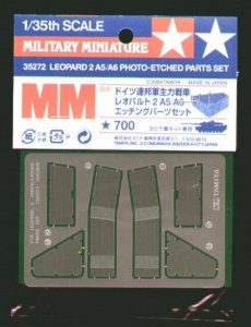 TAM35272 - Tamiya 1/35 LEOPARD 2 A5/A6 PHOTO-ETCH PARTS