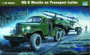 TRP00205 - Trumpeter 1/35 HQ-2 MISSLE ON TRANSPORT