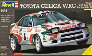 REV07360 - Revell 1/24 Toyota Celica WRC (Winner RAC Rally '93/ Corsica Rally '94)