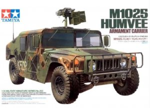 TAM35263 - Tamiya 1/35 M1025 HUMVEE ARMAMENT CARRIER