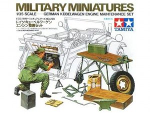 TAM35220 - Tamiya 1/35 KUBELWAGEN MAINTENANCE SET