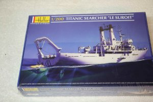 HEL80615 - Heller 1/200 Le Suroit: Titanic Search Ship