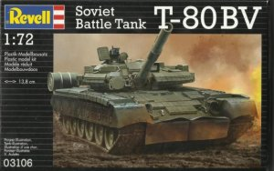 REV03106 - Revell 1/72 Soviet Battle Tank T-80BV