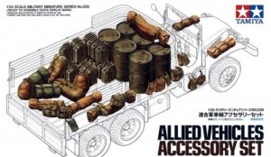 TAM35229 - Tamiya 1/35 ALLIED VEHICLES ACCESSORY SET