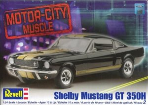 REV85-2482 - Revell 1/24 Shelby Mustang GT 350H [Motor-City Muscle]