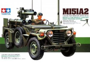 TAM35125 - Tamiya 1/35 U.S. M151A2 W/ TOW MISSLE LAUNCHER (M220 TRACKING SYSTEM)