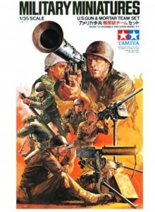 TAM35086 - Tamiya 1/35 US GUN & MORTAR TEAM