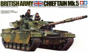 TAM35068 - Tamiya 1/35 BRITISH CHIEFTAIN MK 5 TANK