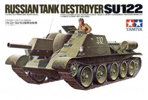 TAM35093 - Tamiya 1/35 SU-122 RUSSIAN TANK DESTROYER