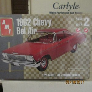 AMT38218 - AMT 1/25 1962 Chevy Bel Air