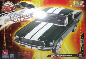 AMT38509 - AMT 1/25 1967 Ford Mustang 'Tokyo Drift'