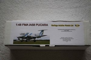 HAMPUCARA - Heritage Aviation Models 1/48 FMA IA58 Pucara
